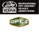 UTV Safety Logos ROHVA and OPEI