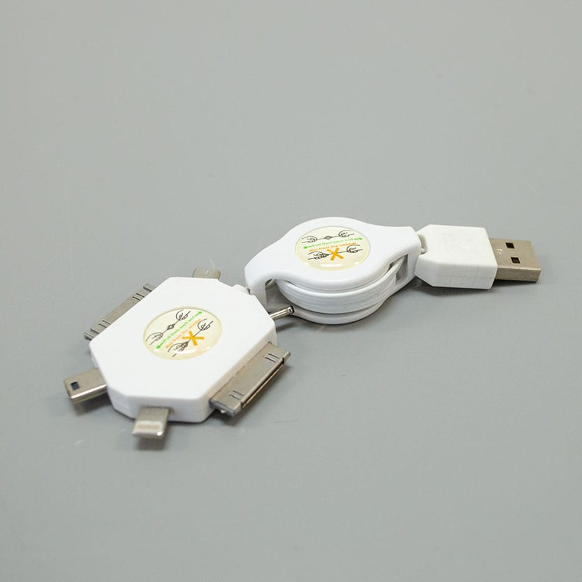 6 IN 1 RETRACTABLE USB BY ANTIGRAVITY BATTERIES™ Image