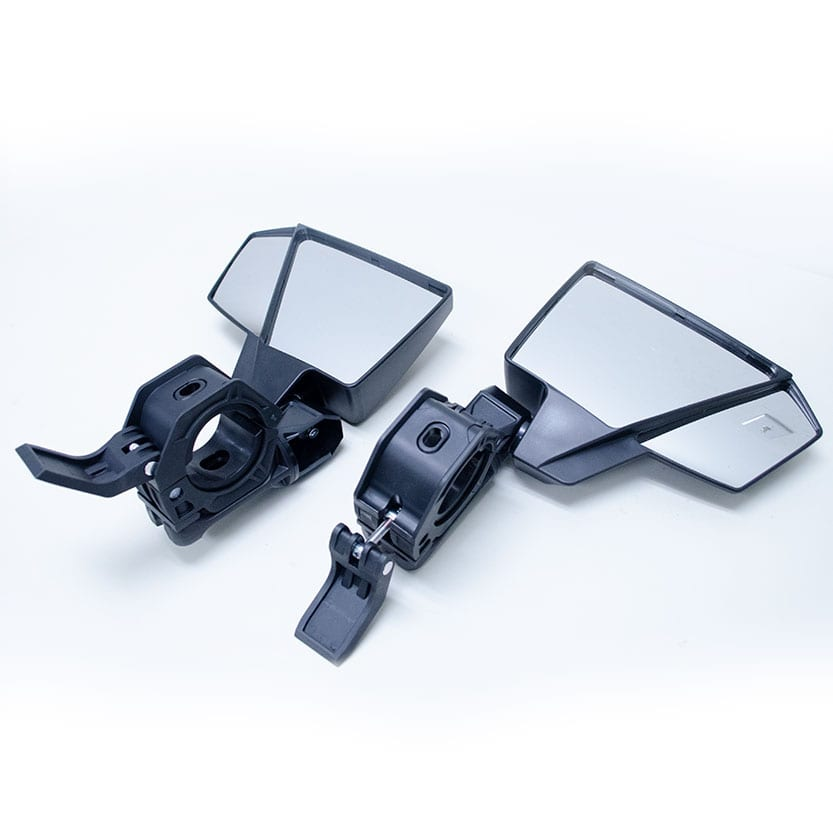 Universal UTV Quick-Attach Side Mirrors - Pair Image