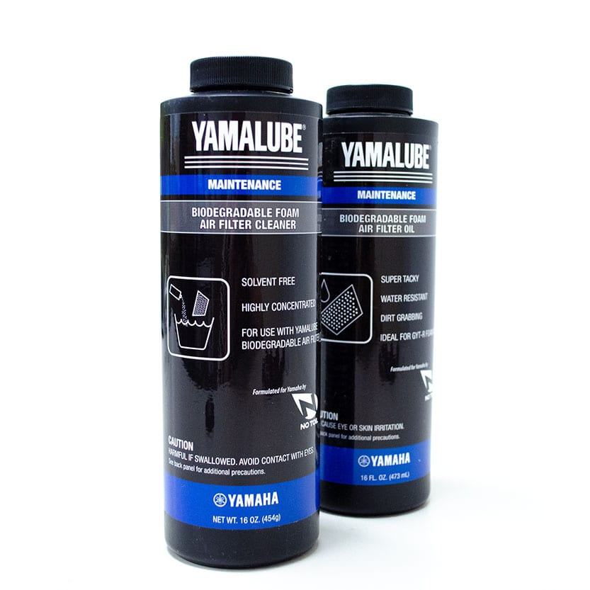 YAMALUBE® BIO-DEGRADABLE FOAM AIR FILTER OIL & CLEANER KIT Image